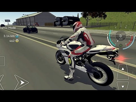 Traffic Motorbike - Android Gameplay HD