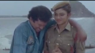 Appula Apparao Love Scene Between Shobana And Rajendra Prasad