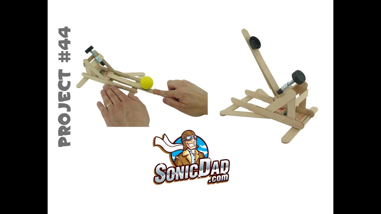 How To Make A Mousetrap Catapult Sonicdad Project 44
