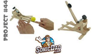 How to Make a Mousetrap Catapult - SonicDad Project #44