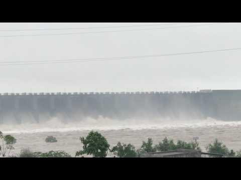 Morbi machhu dam 2 overflow 14 doors open