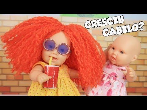A CABELEIRA RUIVA DA MEGIE - Lilly Doll
