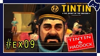 ANIME GAMES - The Adventures of Tintin - Tintin & Haddock #Ex09 [PC - EN-PT] - Gameplay
