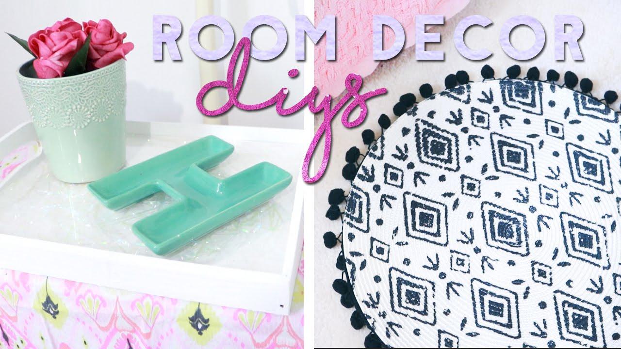 Room Decor Diys Budget Home Decor Craft Ideas 2016 Youtube