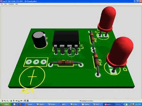 mạch tạo xung IC 555