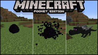 How to Hatch Ender Dragon Egg in Minecraft pe 1.0 | how to summon ender dragon in minecraft pe thumbnail