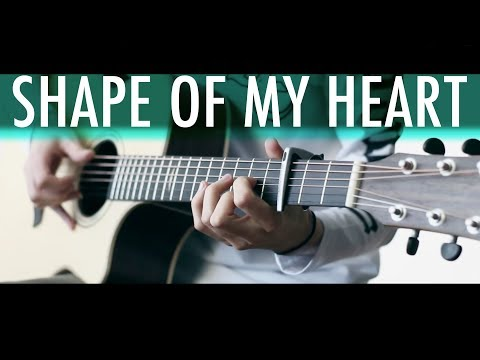 SHAPE OF MY HEART (Sting)⎪Acoustic guitar fingerstyle