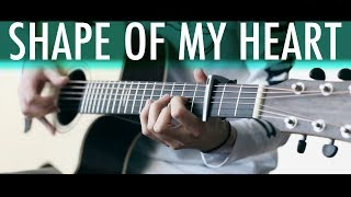 SHAPE OF MY HEART (Sting) Lucid Dreams⎪Acoustic guitar fingerstyle Video