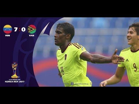 Venezuela Sub20 7-0 Vanuatu Sub20 | Resumen Completo HD | Copa Mundial Sub20 Corea del Sur 2017