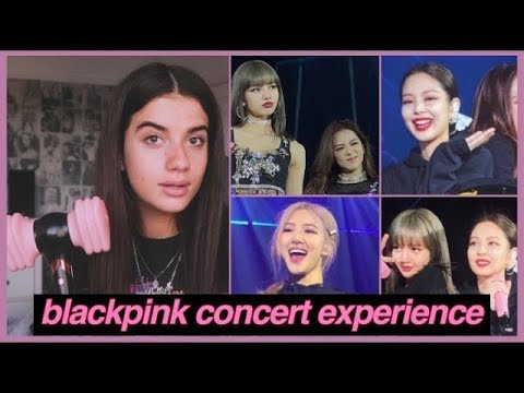 MY EMOTIONAL BLACKPINK CONCERT EXPERIENCE ♡ FRONT ROW & JENNIE WAVED AT ME?! ♡