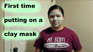 First Time Putting on a Clay Mask Thumbnail