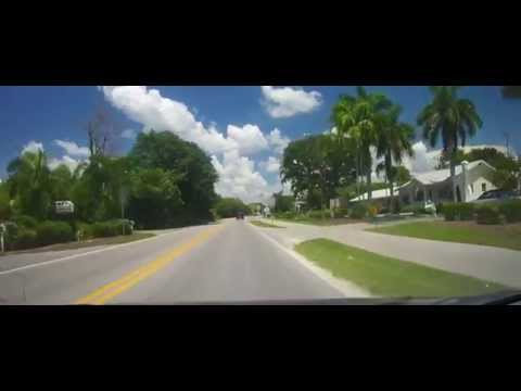 Driving Around Sanibel and Captiva Islands in Florida