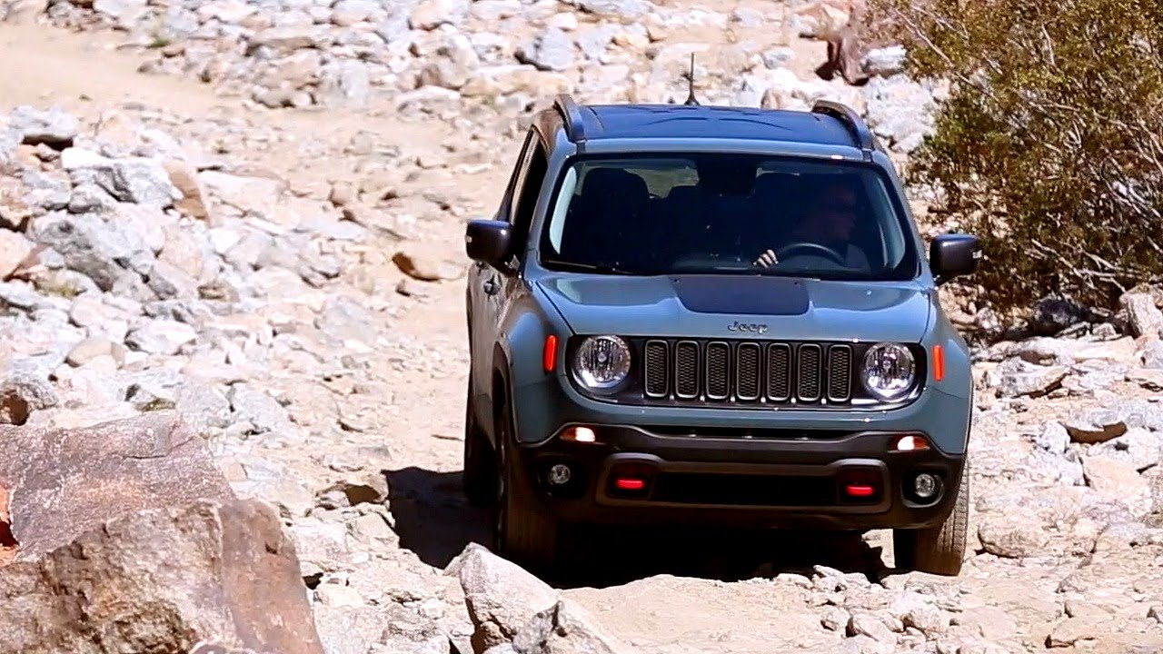2017 Jeep Renegade - Review and Road Test - YouTube
