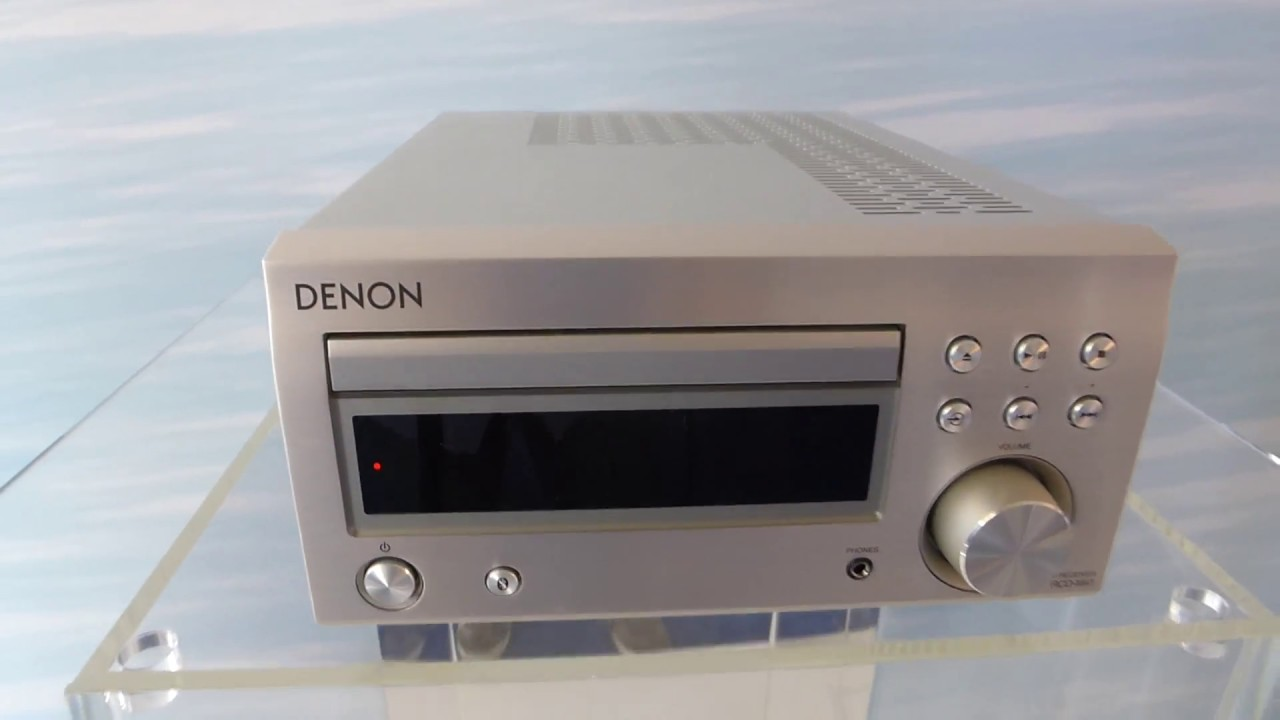 Denon Dm 41 Youtube