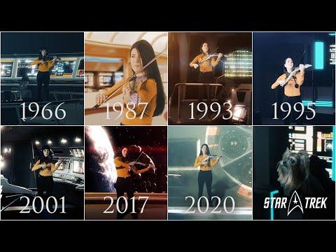 Evolution of Star Trek Series Music Theme