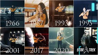 Evolution of Star Trek Series Music Theme (1966-2020) | VioDance