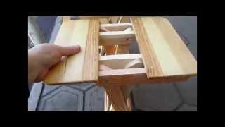 Как сделать мебель для пикника.  Мебель Трансформер. // Олег Карп(Как сделать мебель для пикника. Мебель Трансформер. Подписка на канал https://www.youtube.com/channel/UCDPPv9bvDYv2PIE02-xBzEg?sub_confir..., 2015-10-29T08:47:21.000Z)