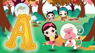 Скачать Letter A Olive And The Rhyme Rescue Crew Learn Alphabet Nursery Songs Letter A Song