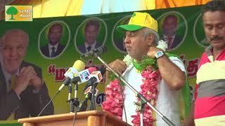 Sainthamarudu public rally SLMC Leader Minister Rauff Hakeem's Emotional Speech 2018.02.03