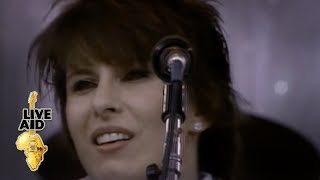 Download lagu Pretenders - Back On The Chain Gang (Live Aid 1985)