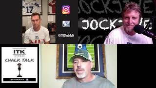 """Special Guest: David Angeron on the """"In The Know Chalk Talk Show""""."""