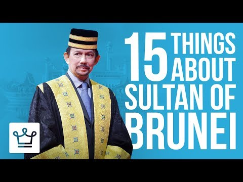 15 Things You Didn't Know About Sultan Of Brunei (Hassanal B