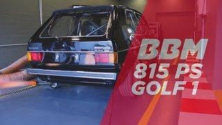 فيديو فولكس واجن جولف معدلة بقوة 815 حصاناً من BBM Motorsport