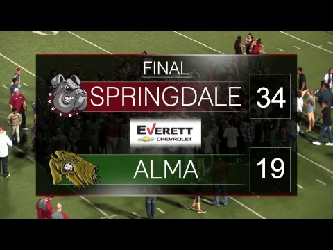 Springdale Bulldog Football | Alma vs. Springdale