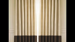 Thrifted DIY: How to make your on Two Tone Drapes Thumbnail