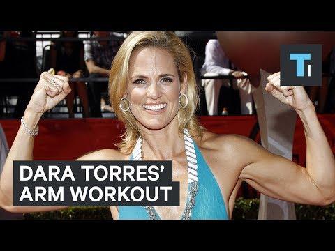 Olympic swimmer Dara Torres