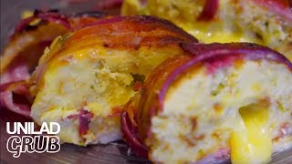 The Breakfast Sushi Roll | UNILAD - Grub