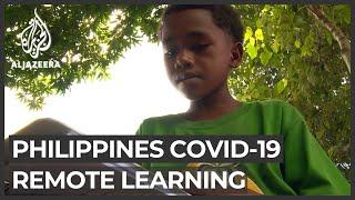 COVID-19: Philippine schools struggle to educate poor children