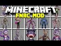 Minecraft FIVE NIGHTS AT CANDY'S MOD! | CANDY, CINDY, BLANK & MORE! | Modded Mini-Game