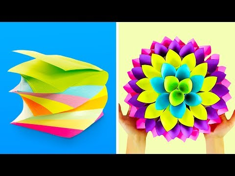 18 WONDERFUL PAPER ORIGAMI PROJECTS