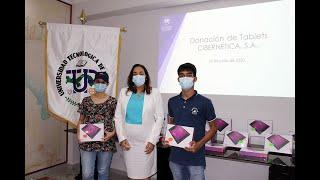 La UTP recibe donación de Cibernética, S.A.