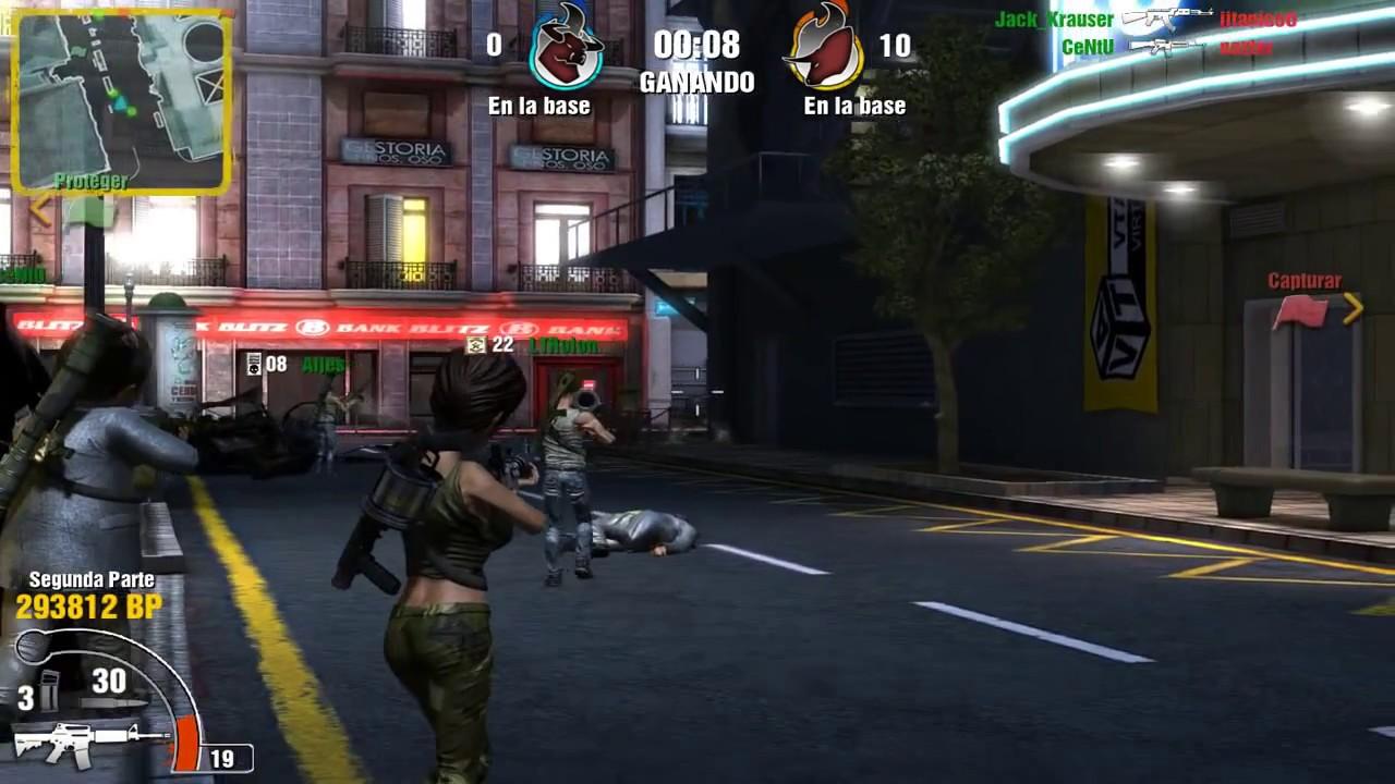 ✭✭✭✭✰ Torrente Online 2, Freak Wars GamePlay Capturar la bandera en MoonLight