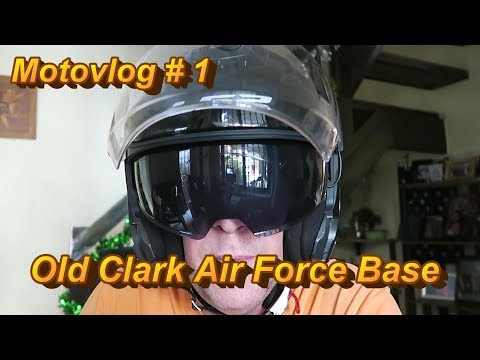 Motovlog #1 - Philippines Old Clark Air Force Base
