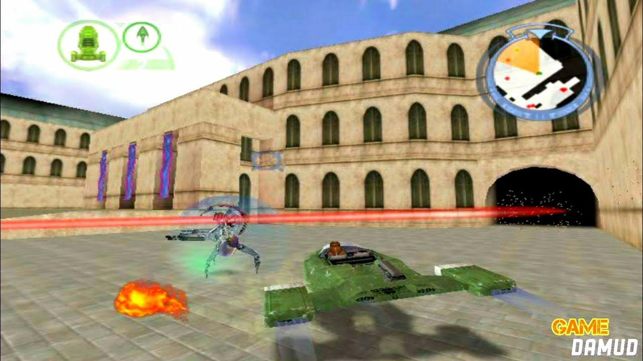 Star Wars Episode 1:Batlle for Naboo 64, gameplay