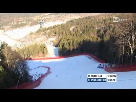 Garmisch 2011, Ski World Championship, SuperG, Innerhofer Gold Medal