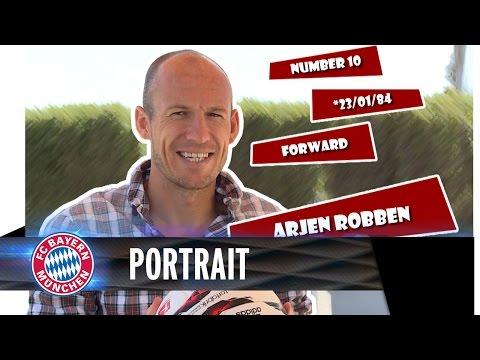 Arjen Robben Portrait