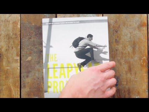 The Leap Year Project Book Trailer:  Learning to Risk. Risking to Learn.