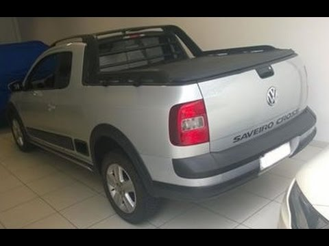 Caçador de Carros: VW Saveiro CROSS 2011 em detalhes