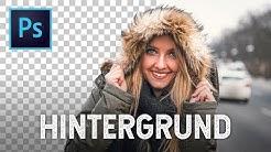 HINTERGRUND MIT 1 KLICK ENTFERNEN in Photoshop!