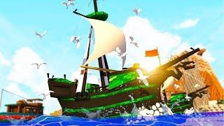 Minecraft   HOW TO MAKE A HUGE SHIP! (Crazy Craft Madness) #23