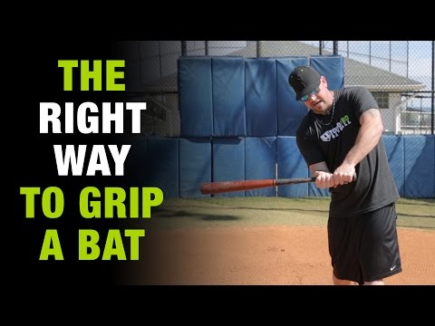 How To Grip The Baseball Bat The Right Way And Never Get
