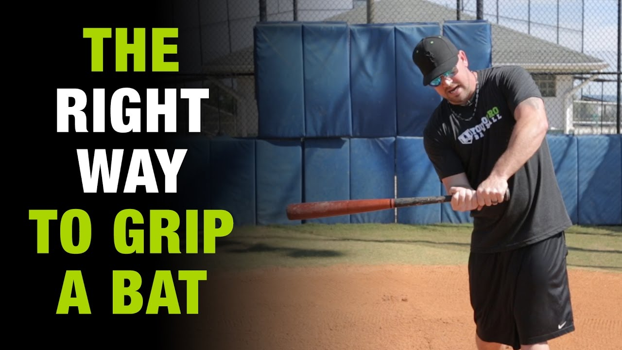 How To Grip The Baseball Bat Right Way And Never Get Jammed Again Tuesday Ep 1