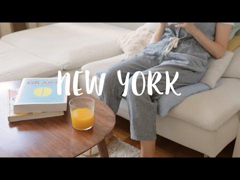 뉴욕 일상 브이로그 / 생애 첫 수술 후 서서히 되찾는 일상, 오랜만에 센트럴파크, 모마, 타임스퀘어 산책, 먹고 자고 걷고, 잠시 쉬어가는 소소한 일상, 미국 프리랜서 직장인