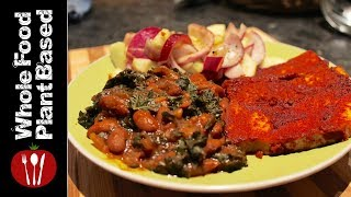 Vegan Bbq Ribs And Cucumber Onion Salad: The Nutritarian Cooking Show