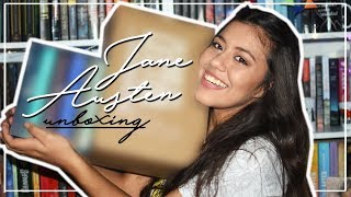 UNBOXING JANE AUSTEN || Boxset de Jane y La Caja del Lector |Melanie Sanz.