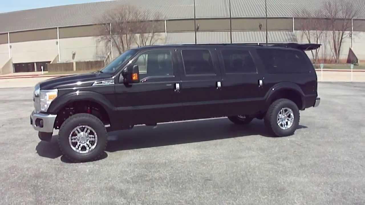 6 Door Ford Truck >> 6.7 L Super X Excursion Six Door - YouTube